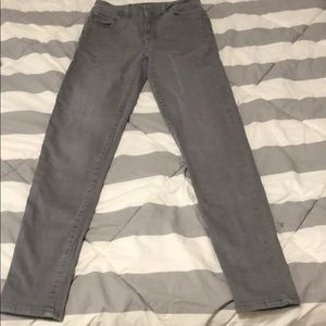 American eagle gray skinny jeans